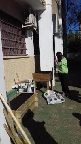 Special Garden Project with students