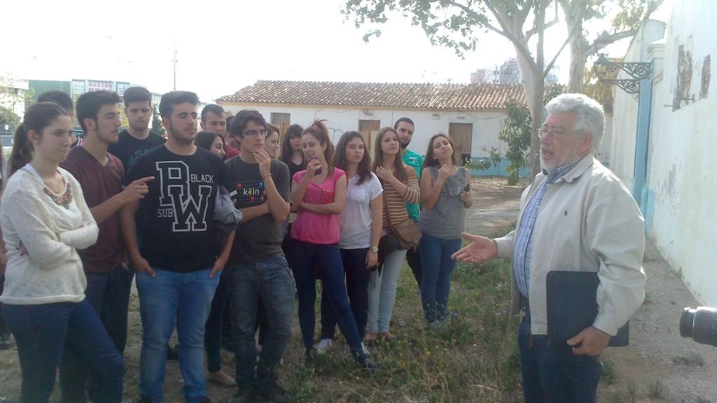 Visita cultural de los alumnos de 2º Bachillerato