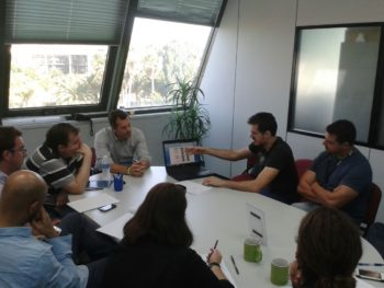 Alumno del IES Campanillas da una charla sobre Big Data en empresa del PTA