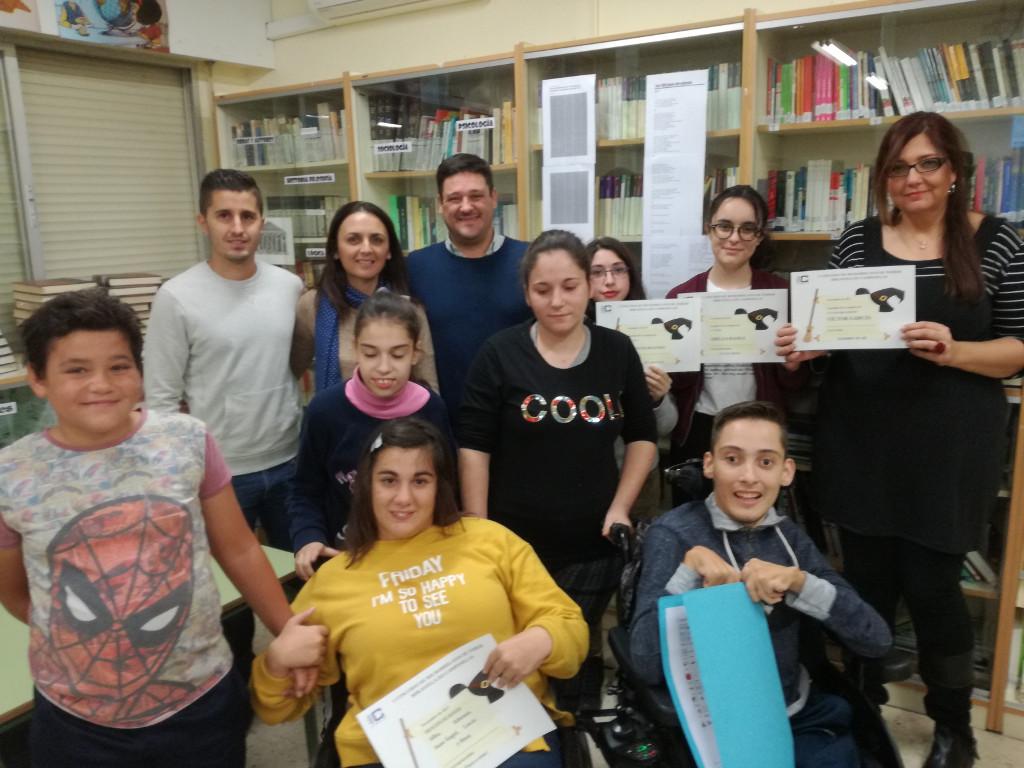 Entrega de premios del I Concurso de microrrelatos de terror y de Kahoot lingüístico y literario para 4º ESO y 1º Bachillerato