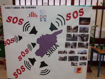Solidaridad con el pueblo sirio