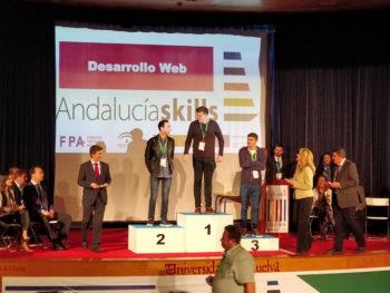 Juan Pedro Postigo bronce en AndalucíaSkills 2018