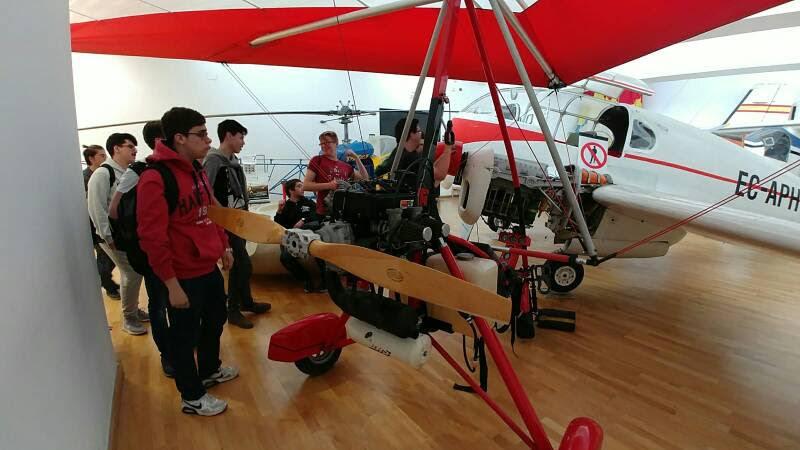 Visita al Museo Aeronáutico