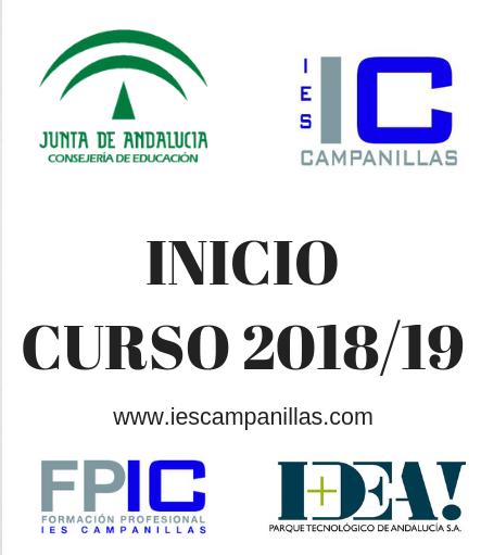 Información de Inicio de Curso 2018/19
