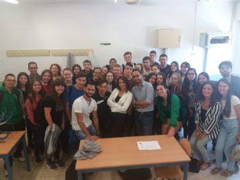 Charla sobre Siria con el alumnado de II de Bachillerato