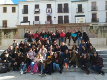 Alumnado de 2º de bachillerato visita Antequera