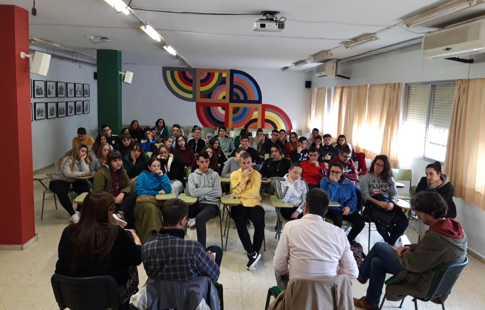 40 años de la Constitución española: debate con el alumnado de 2º de Bachillerato