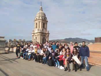 Alumnado de 2º de Bachillerato visita el centro histórico de Málaga