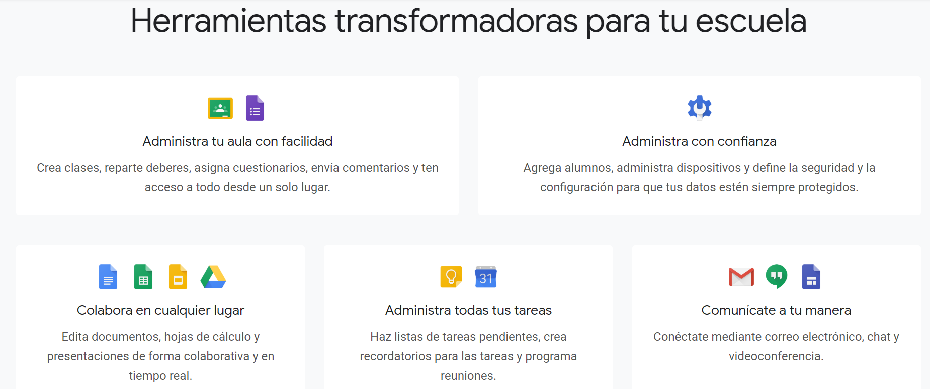 Google Suite – IES Campanillas (Málaga)