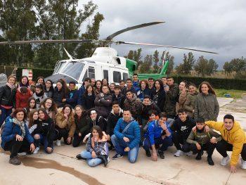 Visita a la Brigada de Refuerzo contra Incendios de Cártama
