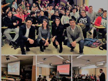 Charla Oracle sobre orientación laboral al alumnado de 4º de ESO y 2º de Bachillerato