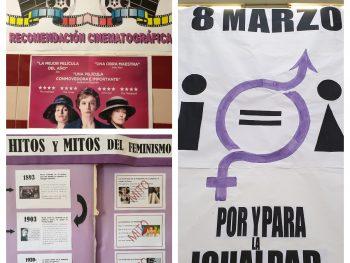 Conmemoración del 8 de Marzo, Día Internacional de la Mujer en el IES Campanillas