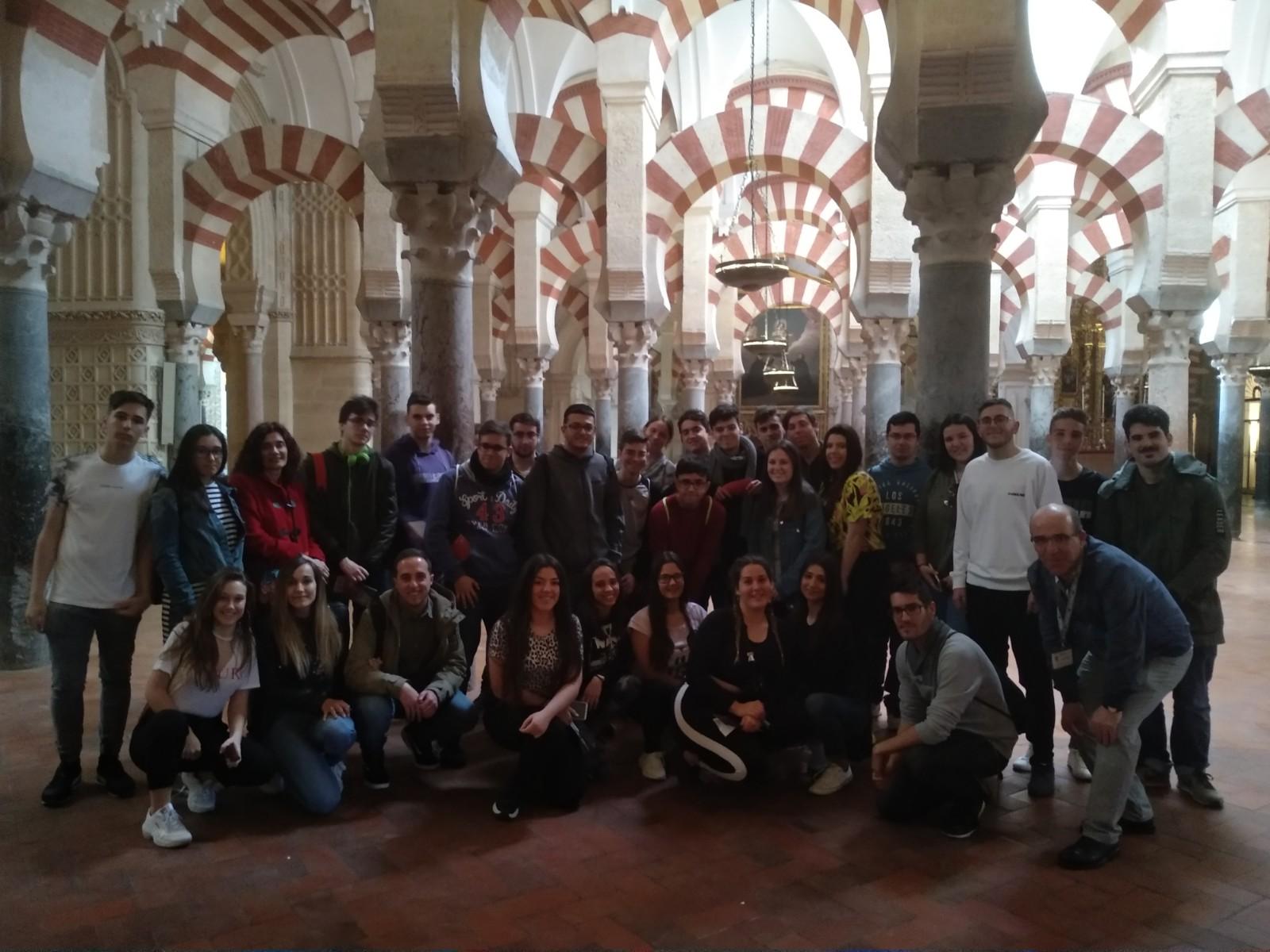 Alumnado de segundo de bachillerato visita Córdoba