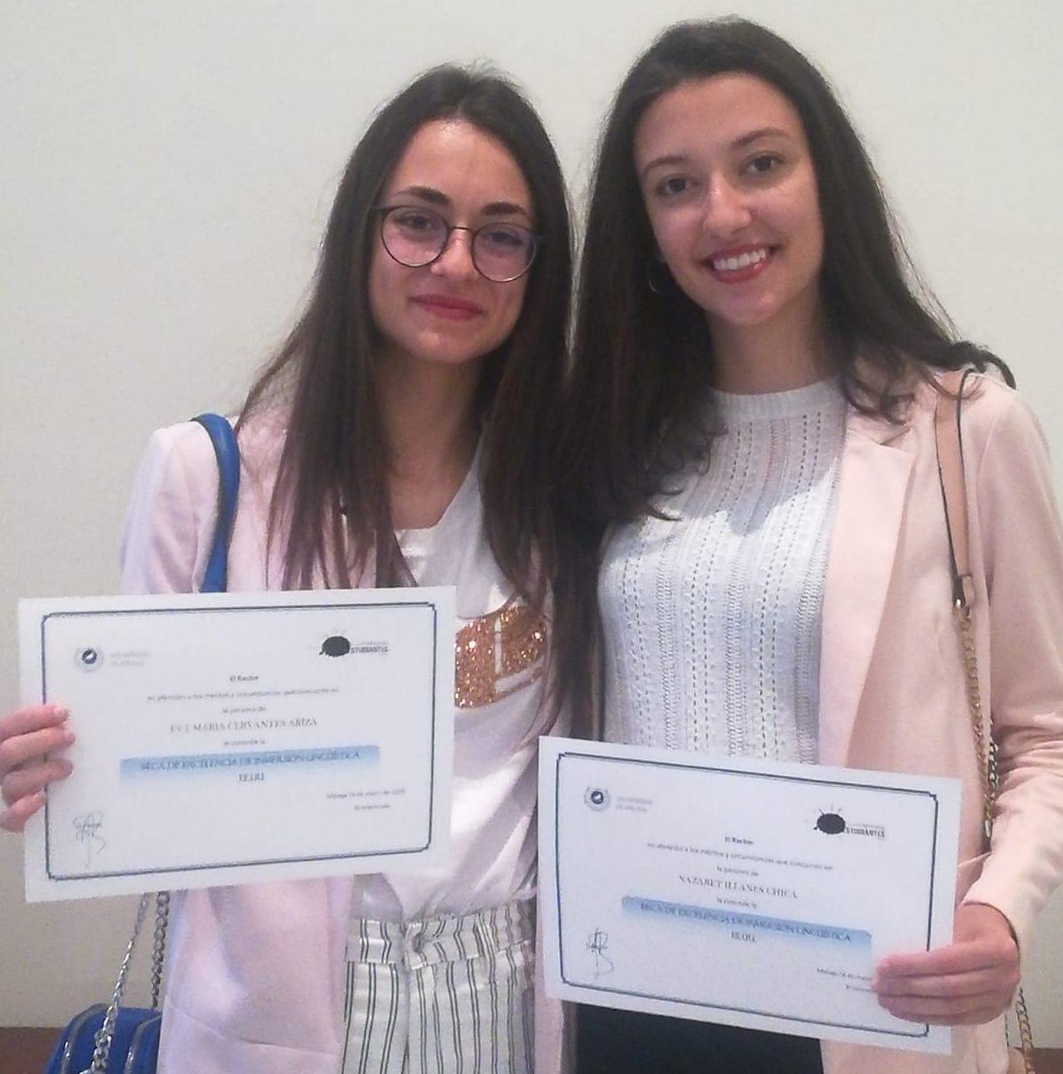 Ex alumnos del IES Campanillas premiados por la UMA