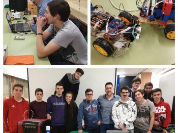 Proyecto Walle-E: participación IES Campanillas en FANTEC 2019