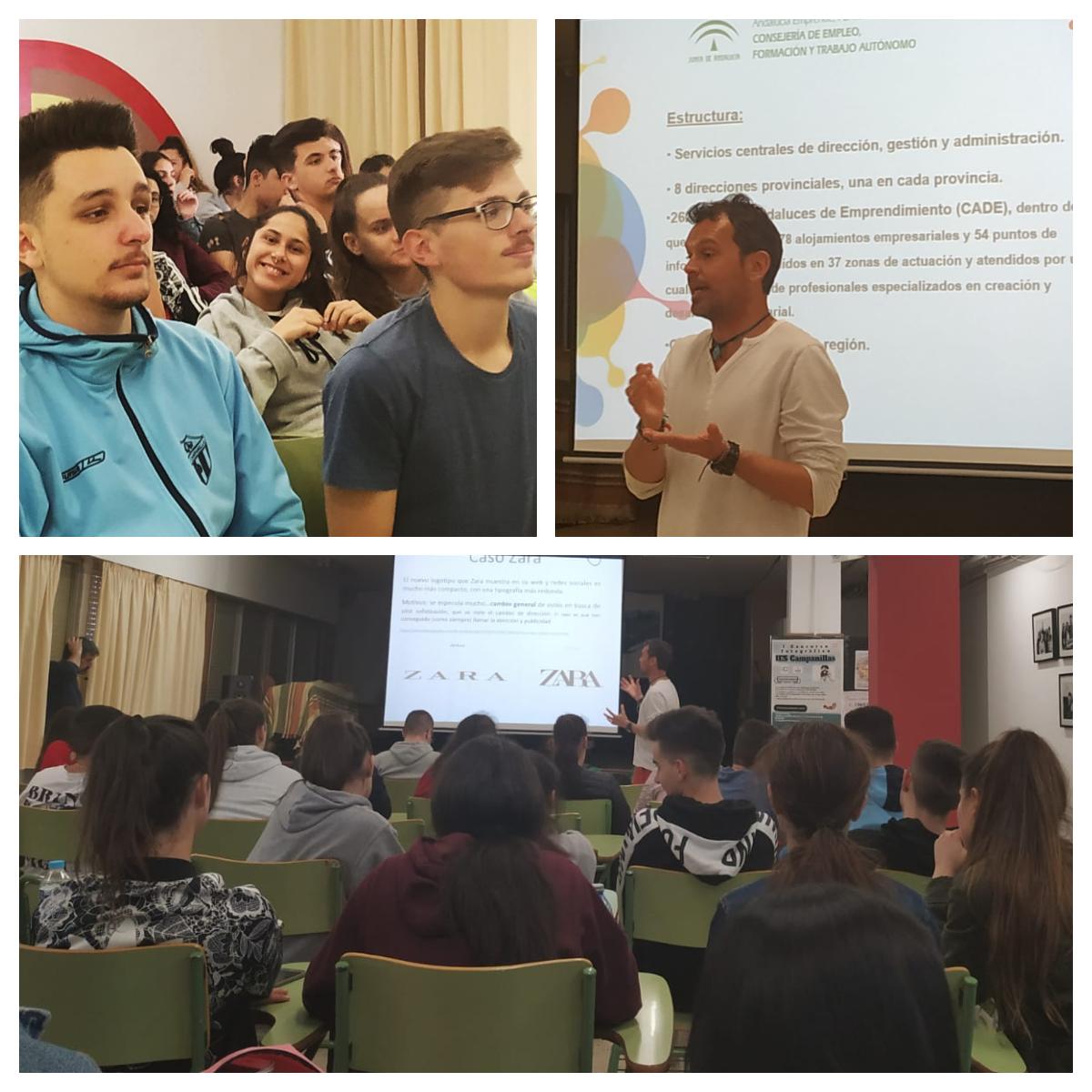 Charla: Centros Andaluces de Emprendimiento