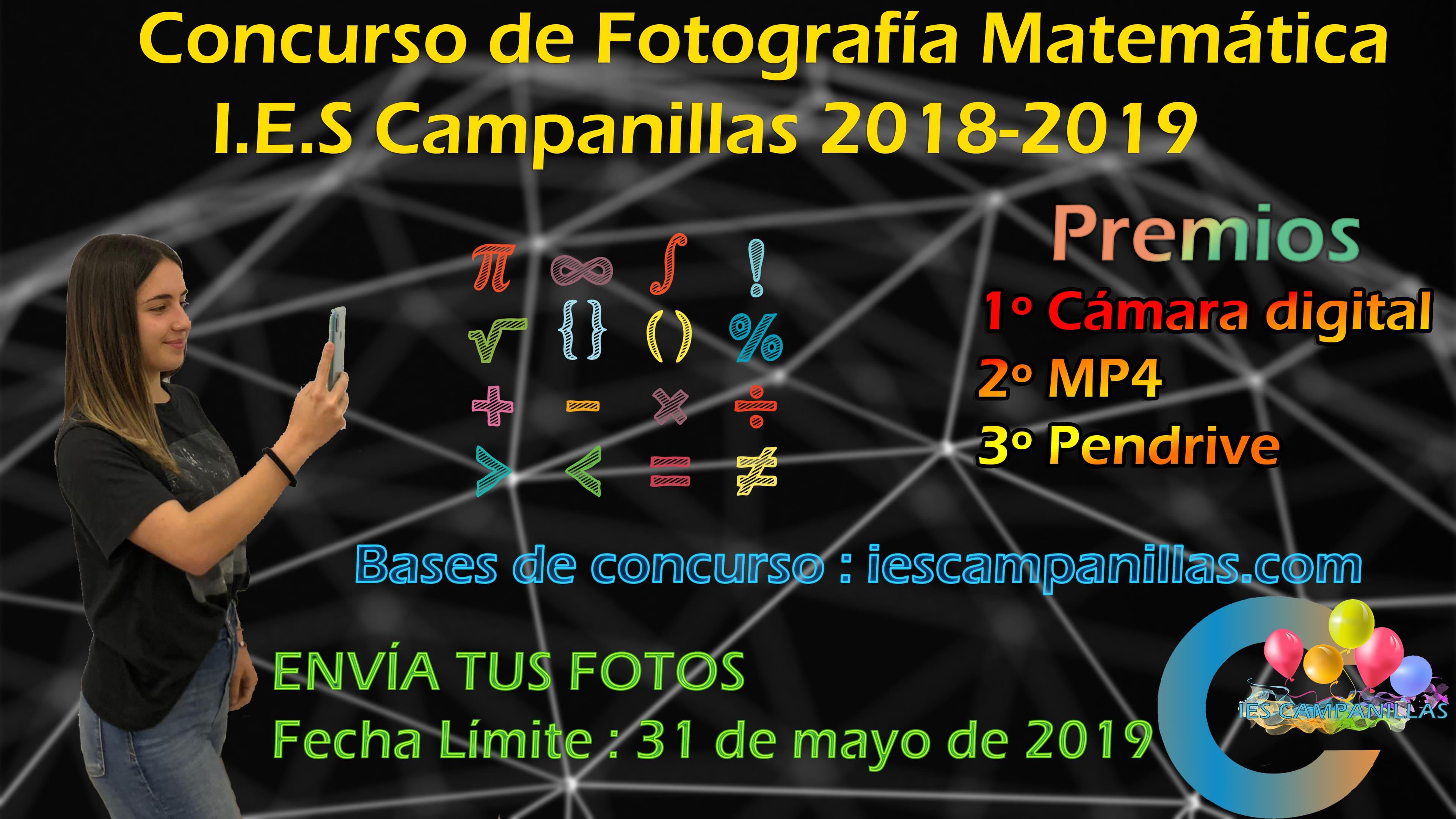 Concurso de Fotografía Matemática 2018-19