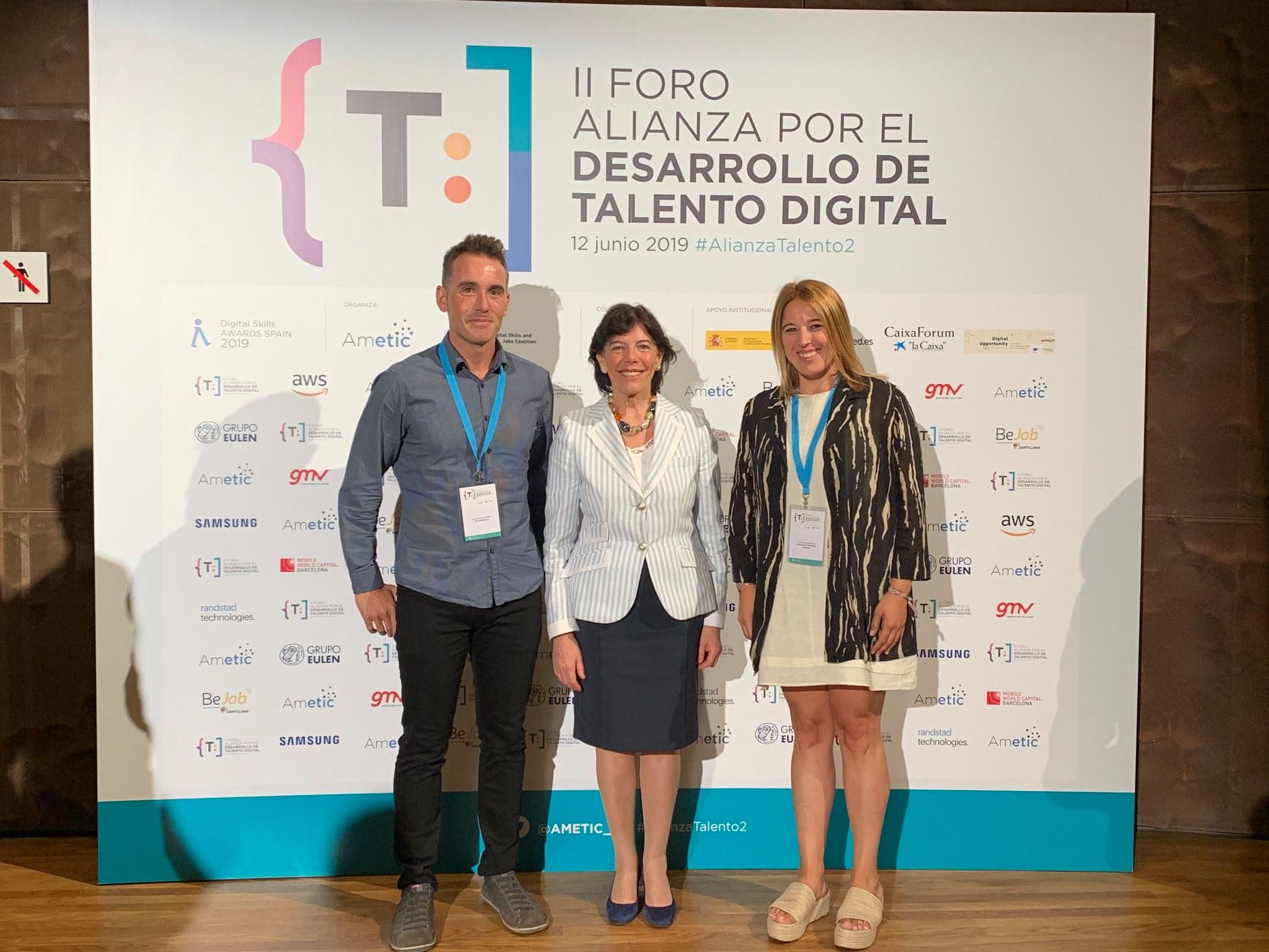Las históricas aventuras de Daniela gana el Premio Nacional Digital Skills Spain