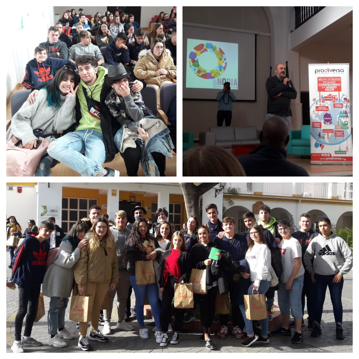 """Proyecto de Diversidad Cultural """"Jóvenes Generando Valores"""""""