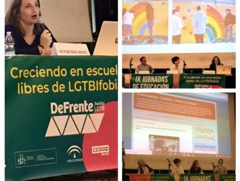 """""""Creciendo en Escuelas Libres de LGTBIfobia"""""""