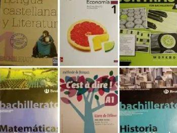 Libros de texto de 1º y 2º de Bachillerato 2020/2021