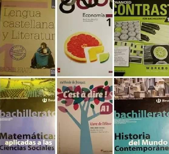 Listado actualizado de libros de texto de 1º y 2º de Bachillerato 2020/2021