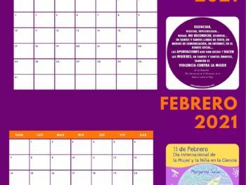El calendario para visibilizar las víctimas de violencia de género