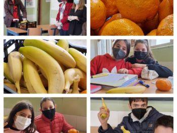 El reparto semanal de fruta