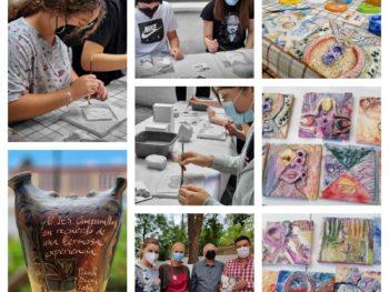 Programa Impulsa – Nueva sesión del taller de policromía cerámica